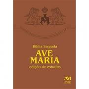 BÍBLIA SAGRADA AVE MARIA - EDIÇÃO DE ESTUDOS
