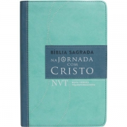 BÍBLIA SAGRADA: NA JORNADA COM CRISTO - VERDE