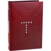 BÍBLIA SAGRADA NAA: CAPA JESUS SAVES