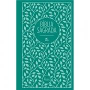 BÍBLIA SAGRADA NVI LEITURA PERFEITA - TECIDO VERDE