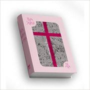 Bíblia Sagrada Rosa Com Lantejoula
