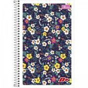 Caderneta Espiral Capa Flexível 1/8 D+ - 48 Folhas