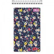 Caderneta Espiral Capa Flexível D+ - 60 Folhas -  Capas Sortidas