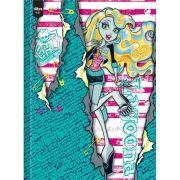 Caderno Brochura Pequeno 48fls Monster High