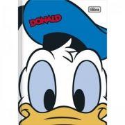 Caderno Brochura 1/4 Top Donald - 80 Folhas