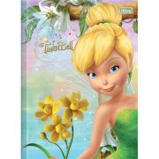 Caderno Brochura Pequeno Top Tinker Bell 96 Folhas - Capas Sortidas