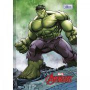 Caderno Brochura Capa Dura Pequeno Top Avengers Assembler 96fls