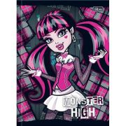 Caderno Brochura Capa Dura Pequeno Top Monster High 96fls