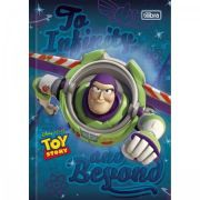 Caderno Brochura Capa Dura Pequeno Toy Story Top - 96 Folhas