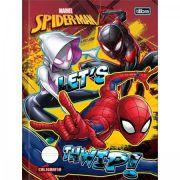 Caderno Brochura Capa Dura Caligrafia Spider Man 40 Fls