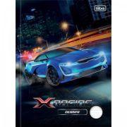 Caderno Brochura Capa Dura Caligrafia X-racing 40fls
