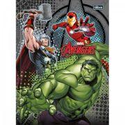 Caderno Brochura Capa Dura Top Pequeno Avengers Assemble - 48 Folhas