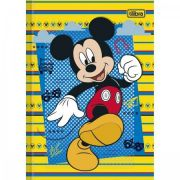 Caderno Brochura Capa Dura Top Pequeno Mickey - 96 Folhas