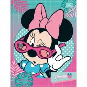 Caderno Brochura Capa Dura Universitário 48fls Minnie