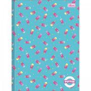 Caderno Brochura Capa Dura Universitário Pepper - 80 Folhas