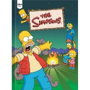 Caderno Brochura Capa Dura Universitário Top Simpsons 48fls