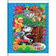 Caderno Brochura Pequeno Arca de Noe 96 Folhas - Capas Sortidas