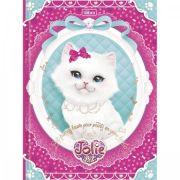 Caderno Brochura Universitario Top Jolie Pet 96 Folhas