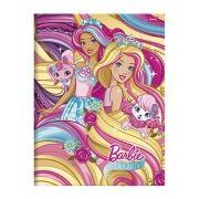 Caderno Capa Dura Caligrafia Barbie 40 Fls