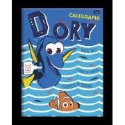 Caderno Capa Dura Caligrafia Procurando Dory - 40 Fls