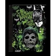 Caderno Capa Dura Universitário Batman Arkham Game 1m 96 Fls
