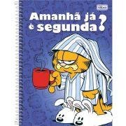 Caderno Capa Dura Universitário Garfield 10 Matérias 200 Fls