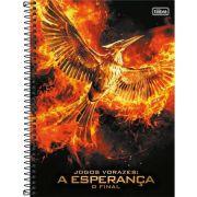 Caderno Capa Dura Universitário Jogos Vorazes 10m 200 Fls