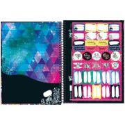 Caderno Capa Dura Universitário Monster High 10 Matérias 200 Fls