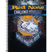 Caderno Capa Dura Universitário Red Nose 1 Matéria 96 Fls - Capas Sortidas