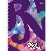 Caderno Capa Dura Universitário Red Nose Girls 1m 96fls