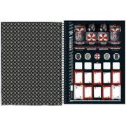 Caderno Capa Dura Universitário Resident Evil 1m 96fls
