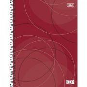 Caderno Capa Dura Universitário Zip 10m 200fls - Capas Sortidas