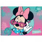 Caderno Desenho Capa Dura 96fls Minnie