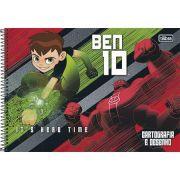 Caderno Desenho Cd 96fls Ben 10
