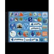 Caderno Desenho Plus Milimetrado Dory 96 Fls