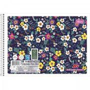 Caderno Espiral Capa Flexível Cartografia e Desenho D+ - 96 Folhas