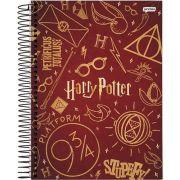 Caderno Jandaia Espiral 20 Matérias Harry Potter - 400 Folhas - Capas Sortidas