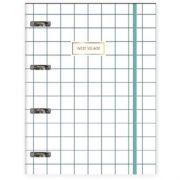 Caderno Tilibra Argolado Universitário Cartonado Com Elástico West Village - 80 Folhas - Capas Sortidas