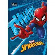 Caderno Tilibra Brochura Capa Dura Pequeno Spider-man - 96 Folhas