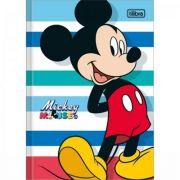 Caderno Tilibra Brochura Capa Dura Pequeno 1/4 Mickey - 48 Folhas