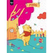 Caderno Tilibra Brochura Pequeno Capa Dura Pooh - 96fls