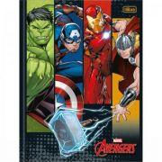 Caderno Tilibra Brochura Capa Dura Universitário Avengers - 80 Folhas