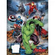 Caderno Tilibra Caligrafia Brochura Capa Dura Avengers 40 Folhas - Capas Sortidas