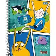 Caderno Tilibra Capa Dura Universitário Adventure Time - 10m