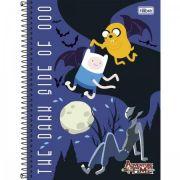 Caderno Tilibra Capa Dura Universitário Adventure Time - 1m