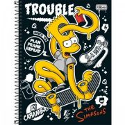 Caderno Tilibra Capa Dura Universitário Simpsons - 1m 96fl