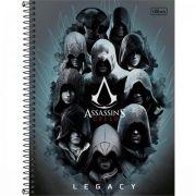 Caderno Universitário Capa Dura 1 Matéria Assassin's Creed - 96 Folhas