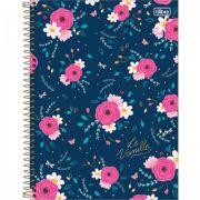 Caderno Universitário Capa Dura Le Vanille 10 Matérias - 160 Folhas - Capas Sortidas