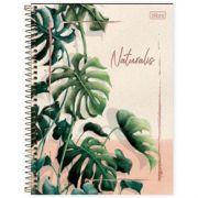 Caderno Universitário Capa Dura Naturalis 10 Matérias - 160 Folhas