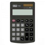Calculadora de Bolso 8 Dígitos Grande Tc03 Preta Tilibra
